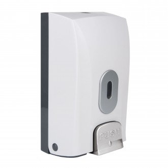 WR-CD-1188A - White Bulk Fill Soap Dispenser
