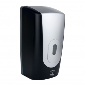 WR-CD-5008F - Silver/Black Automatic Foam Soap Dispenser