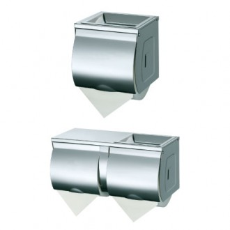 WR-JZH10W3/JZH210W1 S/S Single or Double Toilet Roll Holder