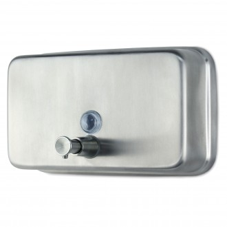 WR-J-06  Stainless Steel Horizontal Soap Dispenser