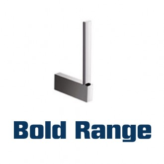 WR-YG111505 - 'Bold' Range of Chrome Bathroom Accessories