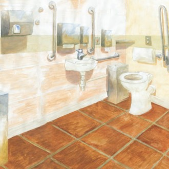 Recommended Mounting Heights for Accessible Washroom