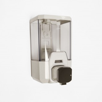 WR-ZYQ100 - Transparent Bulk Fill Soap Dispenser