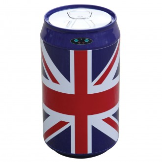 Union Jack Can Shaped Automatic Sensor Bin 30L
