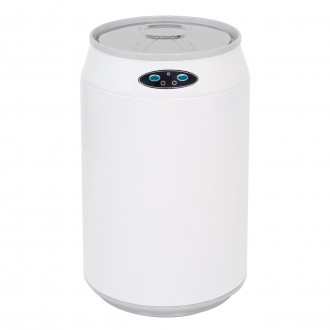 White Can Shaped Automatic Sensor Bin