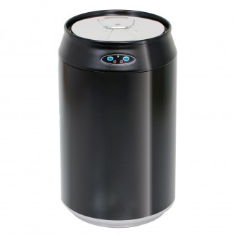Black Can Shaped Automatic Sensor Bin
