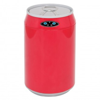 Red Can Shaped Automatic Sensor Bin