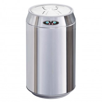 Stainless Steel Can Shaped Automatic Sensor Bin