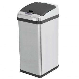 Stainless Steel Automatic Waste Bin
