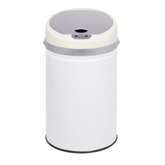 Colour Pop Automatic Bin - White