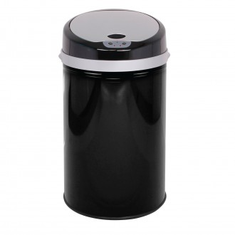 Colour Pop Automatic Bin - Black
