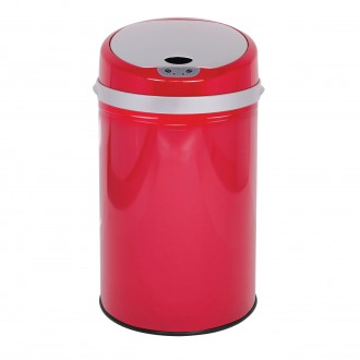 Colour Pop Automatic Bin - Red