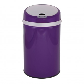 Colour Pop Automatic Bin - Purple