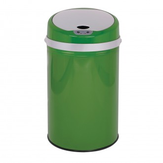 Colour Pop Automatic Bin - Green