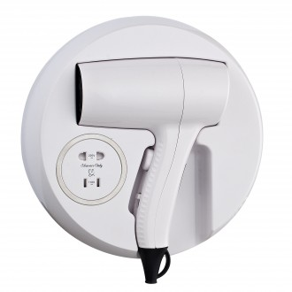 CD-721A Wall Mounted Hair Dryer With Shaver Socket