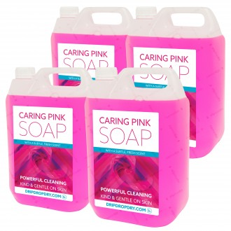 CL-PS01-5L-X4 - Caring Pink Soap - 4 Pack