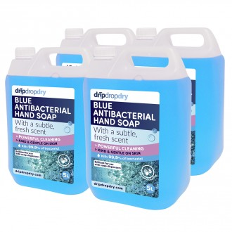 CL-AS01-5L-X4 Blue Antibacterial Soap 4 x 5L