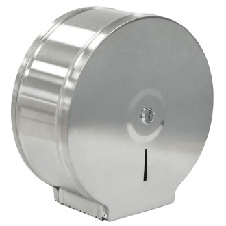 WR-H8-DISP Lockable Brushed Stainless Steel Jumbo Dispenser