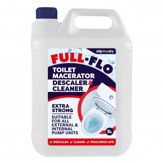 CL-FFMC-5L Full-Flo Toilet Macerator Descaler & Cleaner – Saniflo Compatible